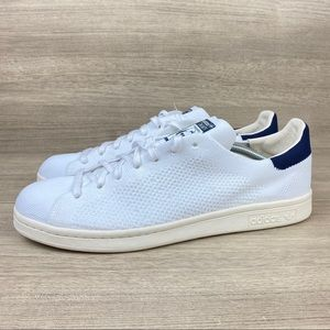 Adidas Stan Smith Primeknit Sneaker New White Navy